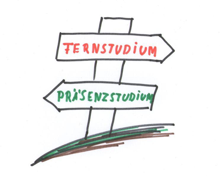 Fernstudium: Berufstätigkeit und akademische Weiterbildung verbinden.